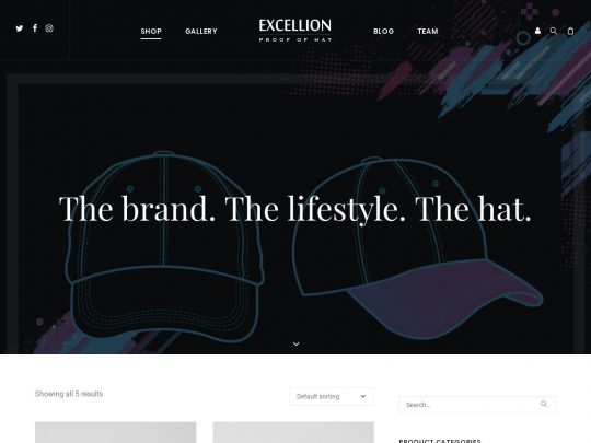 Excellion Hats