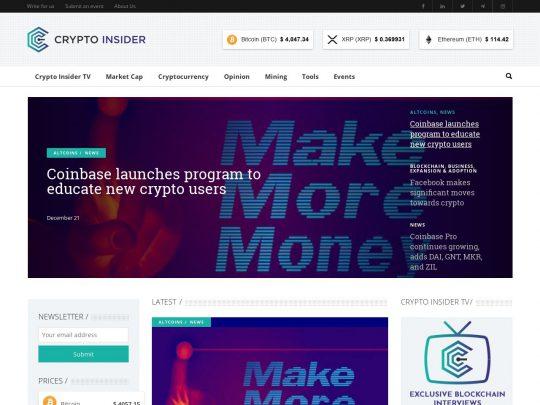 Crypto Insider