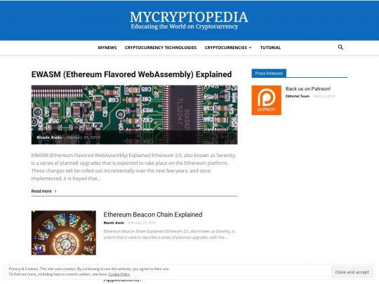 My Cryptopedia