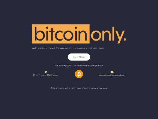 Bitcoin Only