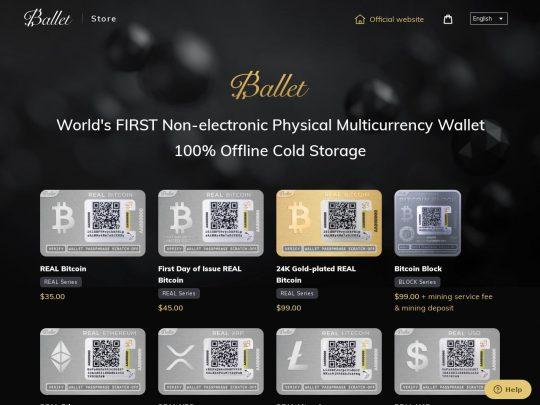 Ballet Crypto