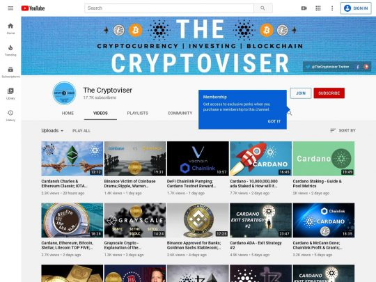 The Cryptoviser