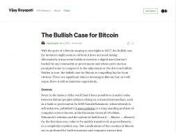 Bullish Case for Bitcoin