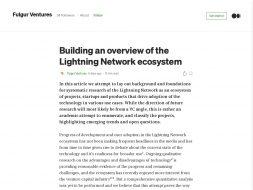 Lightning Network Ecosystem