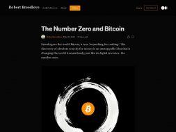 Number Zero & Bitcoin