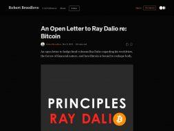 Open Letter to Dalio